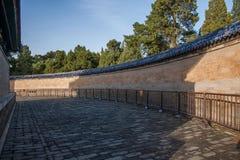 Il tempio del cielo in parete di eco del parco di Pechino Tiantan Fotografia Stock