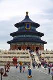 Il tempio del cielo, Pechino, Cina Fotografie Stock