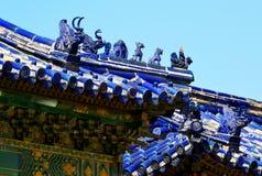 Il tempio del cielo, primo piano, punto di riferimento della città di Pechino, Cina fotografie stock