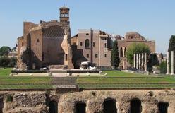 Il tempio del Venere & di Roma Immagine Stock Libera da Diritti
