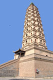 Pagoda di Haibao immagini stock