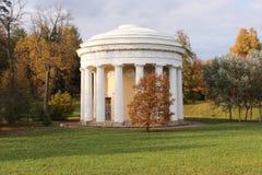 Il tempio di amicizia nel parco di Pavlovsk Fotografia Stock Libera da Diritti