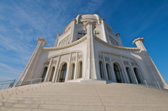 Il tempio di Baha'i in Chicago Fotografie Stock