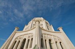 Il tempio di Baha'i in Chicago Immagine Stock