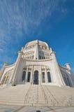 Il tempio di Baha'i in Chicago Fotografia Stock Libera da Diritti