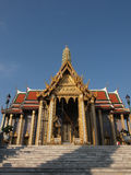Il tempio di Buddha verde smeraldo nel grande palazzo reale di Bangko immagini stock libere da diritti