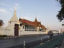 Il tempio di Buddha verde smeraldo nel grande palazzo reale di Bangko immagini stock