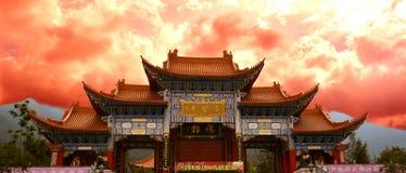Il tempio di Chongsheng Fotografia Stock Libera da Diritti