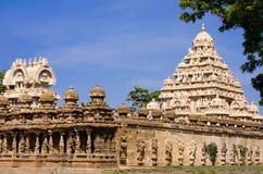 Il tempio di Kailasanath è il più vecchio tempio di Kanchipuram Luoghi Immagini Stock