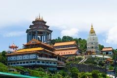 Il tempio di Kek Lok Si fotografie stock libere da diritti