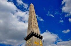 Il tempio di Luxor, il piazza de la Concorde, Parigi Fotografia Stock Libera da Diritti