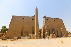 Il tempio di Luxor - l'Egitto fotografie stock libere da diritti