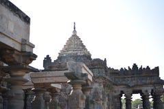 Il tempio di Mahadeva, Chalukya occidentale, Itagi, Koppal, il Karnataka Fotografia Stock