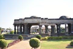 Il tempio di Mahadeva, Chalukya occidentale, Itagi, Koppal, il Karnataka Immagini Stock
