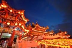 Il tempio di Thean Hou, Kuala Lumpur Fotografia Stock Libera da Diritti