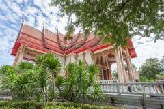 Il tempio di Wat Chalong Buddhist in Chalong, Phuket, Tailandia fotografie stock libere da diritti