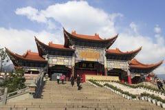 Il tempio famoso del chongsheng a Dali City, porcellana Fotografia Stock Libera da Diritti