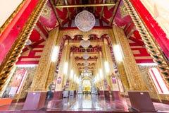 il tempio molto bello di Wat Sanpayang Luang fotografie stock
