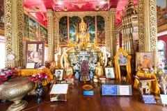 il tempio molto bello di Wat Sanpayang Luang immagini stock libere da diritti