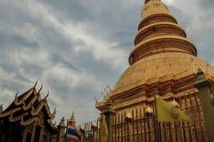 Il tempio nel giorno piovoso immagine stock libera da diritti