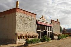 Il tempio nel Tibet Immagine Stock