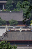 Il tempio nell'area scenica di Lingyin fotografia stock libera da diritti