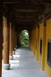 Il tempio nell'area scenica di Lingyin fotografia stock