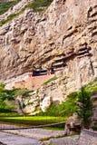 Il tempio sospeso del Mt. Hengshan. Fotografia Stock Libera da Diritti
