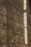 Il tempio stupefacente di ISIS dall'isola di Philae nel lago Nasser, Assuan, Egitto Fotografie Stock Libere da Diritti