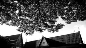 Il tempio tailandese Fotografie Stock Libere da Diritti