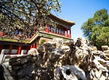 Tempio Yunhegun del Lamaist Immagine Stock