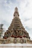 Il Temple of Dawn, Wat Arun Thailand immagine stock libera da diritti