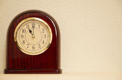 Il tempo è 11:00 Fotografia Stock