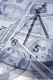 Il tempo è denaro. Fotografia Stock Libera da Diritti