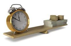 Il tempo è denaro Immagine Stock