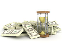 Il tempo è denaro Immagine Stock Libera da Diritti