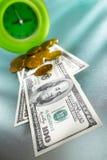 Il tempo è denaro concetto Fotografie Stock Libere da Diritti