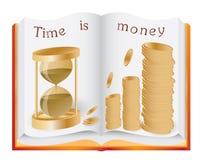 Il tempo è denaro concetto Fotografia Stock