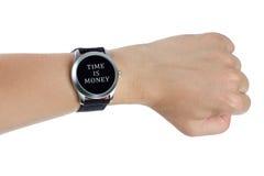 Il tempo è denaro concetto Immagini Stock