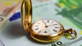 Il tempo è denaro concetto archivi video