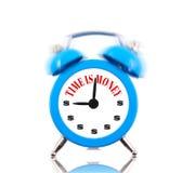 Il tempo è denaro! Sveglia Fotografia Stock Libera da Diritti