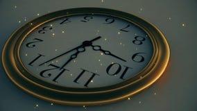 Il tempo dorato illustrazione vettoriale