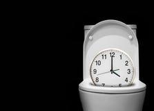 Il tempo dorme via fotografia stock