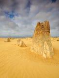 Il tempo drammatico del deserto dei culmini, Cervantes Immagine Stock