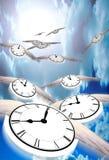 Il tempo vola illustrazione di stock
