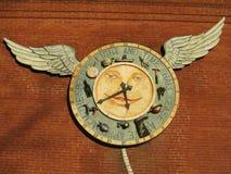 Il tempo vola con le ali Fotografie Stock Libere da Diritti