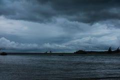 Il temporale sta venendo fotografia stock libera da diritti