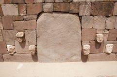 Il tenone dirige - Tiwanaku - la Bolivia Fotografia Stock