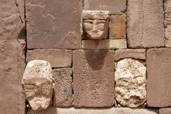 Il tenone dirige - Tiwanaku - la Bolivia Fotografie Stock