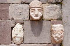 Il tenone dirige - Tiwanaku - la Bolivia Fotografia Stock Libera da Diritti